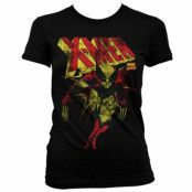 X-Men Distressed Girly T-Shirt, Girly T-Shirt