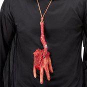 Avhuggen Hand Halsband