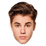 Bieber Pappmask - 6-pack