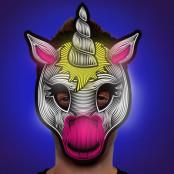 Enhörning Lysande Mask