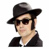 Blues Brothers Hatt - One size