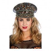 Festivalhatt Leopard - One size
