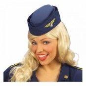 Flygvärdinnehatt - One size