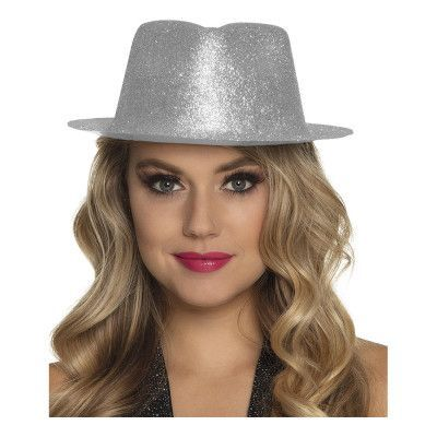 gnistrande silver hatt one size. GEEKBUTIKEN 6b2af7020d812