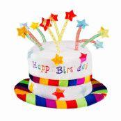 Hatt, happy birthday stjärnor
