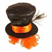 Mad Hatt med Hår - One size