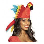 Papegoja Regnbågsfärgad Hatt - One size