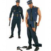 Strip Time Policeman - Striptease Lyxdräkt