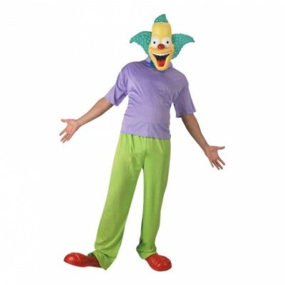 Krusty the Clown Maskeraddräkt