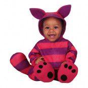 Lila Katt Bebis Maskeraddräkt - 12-24 månader