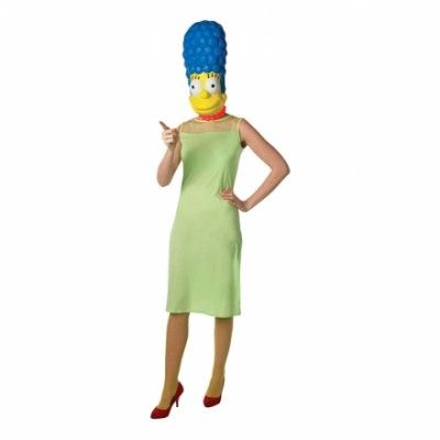 Marge Simpson Maskeraddräkt - Medium