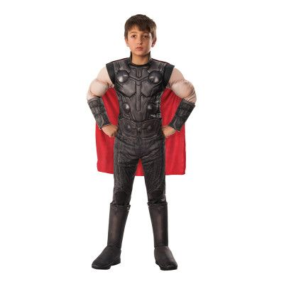 Marvel Endgame Thor Deluxe Barn Maskeraddräkt - Medium