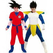 Parkostymer - Anime Inspirerade Dragon Ball Kostymer