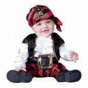 Pirat Bebis Maskeraddräkt - Small