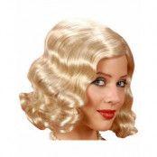 20-tals Flapperperuk i Blond