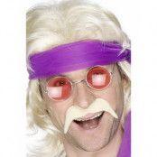 70-Tals Mustasch - Blond (Lösmustasch)