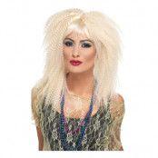 80-tals Blond Krusad Peruk - One size
