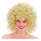 80-tals Permanent Blond Peruk - One size