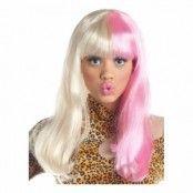 Blond/Rosa Diva Peruk