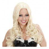Gisela Blond Deluxe Peruk - One size