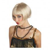 Flirtig Flapper Blond Peruk  - One size
