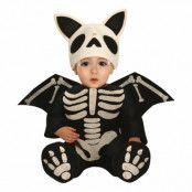 Skelett Fladdermus Bebis Maskeraddräkt - 18-24 månader