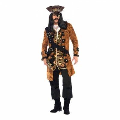 Steampunk Pirat Maskeraddräkt