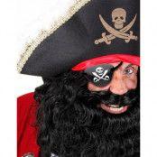 Svart Piratögonlapp - Maskeradtillbehör