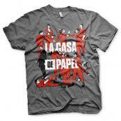 T-shirt, La Casa De Papel L