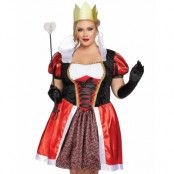 Wonderland Inspirerad Queen of Hearts Dräkt