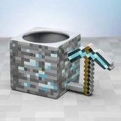 Minecraft, 3D Mugg - Pickaxe