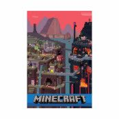 Minecraft, Maxi Poster - World