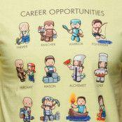 Minecraft Career Opportunities Premium Tee