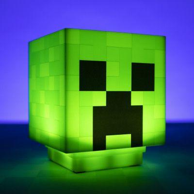 Minecraft Creeper Lampa
