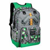 Minecraft Emerald Survivalist Ryggsäck