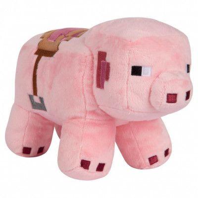 Minecraft, Gosedjur - Saddled Pig