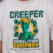 Minecraft Creeper Demolition Company Premium T-shirt