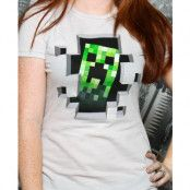 Minecraft Creeper Inside Dam T-shirt