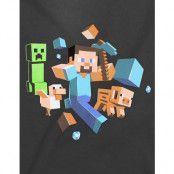 Minecraft Run Away! Glow in the Dark T-shirt