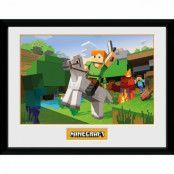 Minecraft - Tavla, Zombie Attack