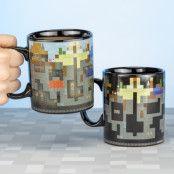 Minecraft Värmekänslig XL Mugg