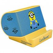Despicable Me Minion Portable Stereo Sound Speaker W/Built in Stand