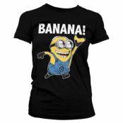 Minions - Banana! Girly Tee, T-Shirt