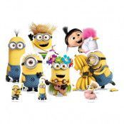 Minions Bordsdekorationer - 9-pack