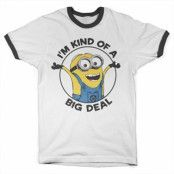 Minions - I'm Kind Of A Big Deal Ringer Tee, Ringer Tee