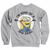 Minions - I'm Kind Of A Big Deal Sweatshirt, Sweatshirt