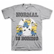 Minions - Normal Life Is Boring T-Shirt, Basic Tee