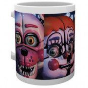 Five Nights at Freddy's - Sister Location Faces Mug