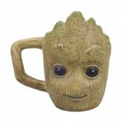 Guardians Of The Galaxy 3D Mugg Groot