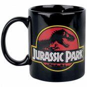 Jurassic Park, Mugg - Logotyp